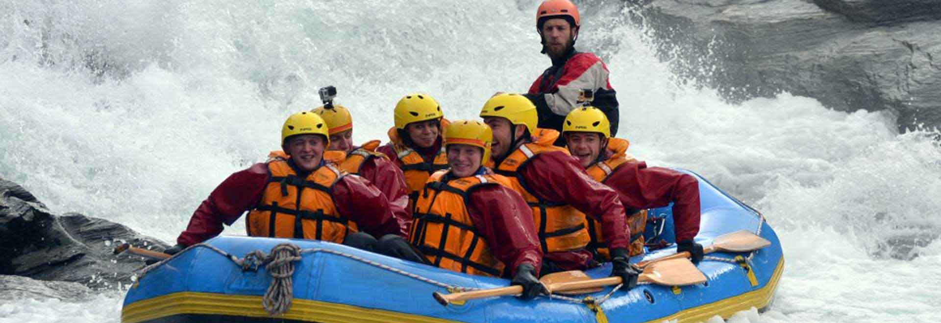 Challenge Rafting Shotover River H day
