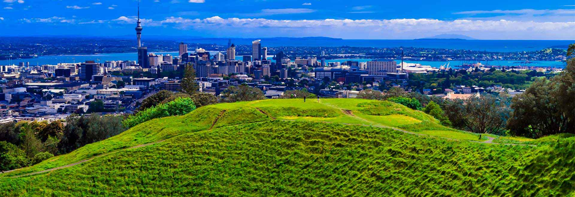 Auckland Mt Eden Hill New Zealand Tourist Attractions Places To