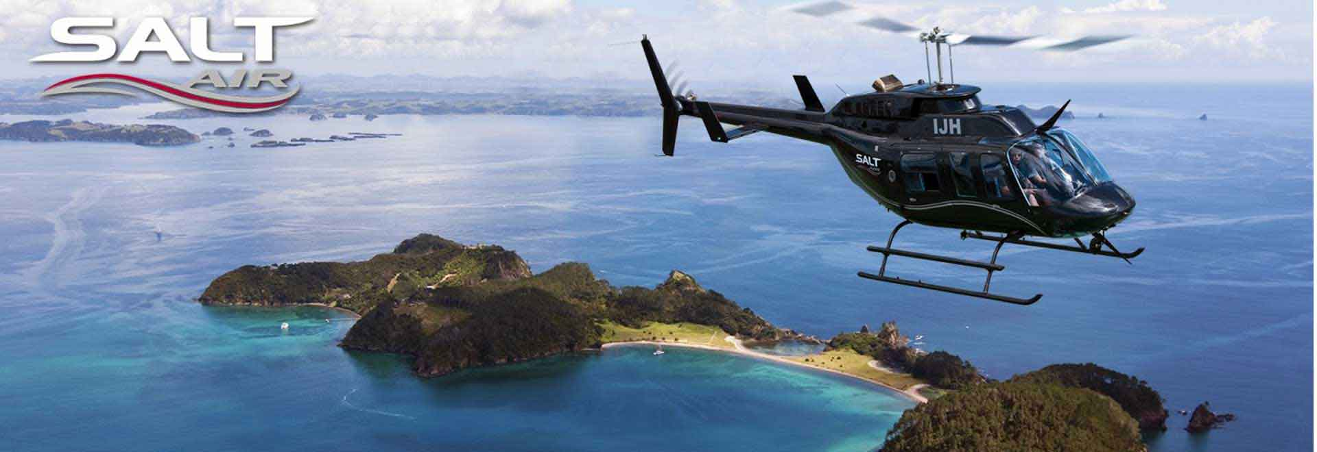 Salt Air Helicopter Tours Paihia