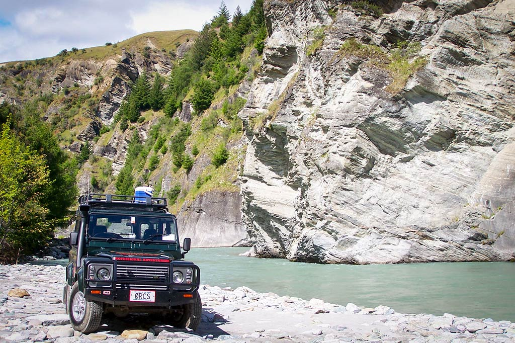 Skippers Canyon 4WD Adventure Nomad (Max 4 per vehicle)
