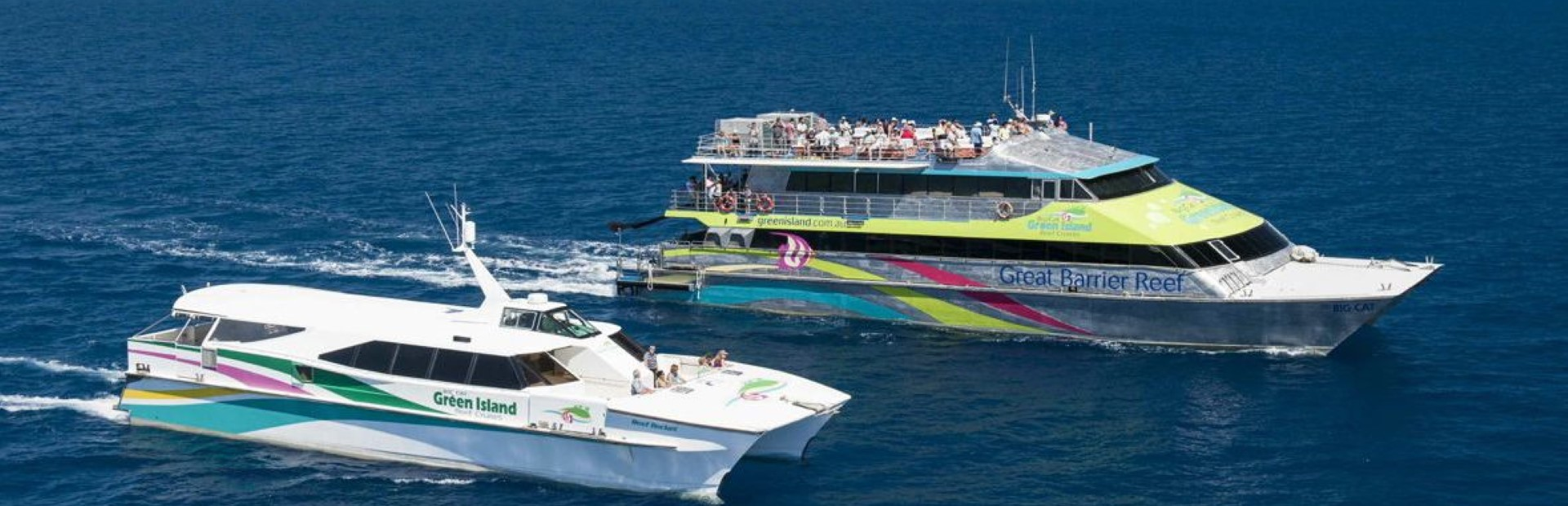 Big Cat Cruise Full Day Green Island Reef Cruise with Standard Inclusion from Reef Terminal FDBC PAK 1