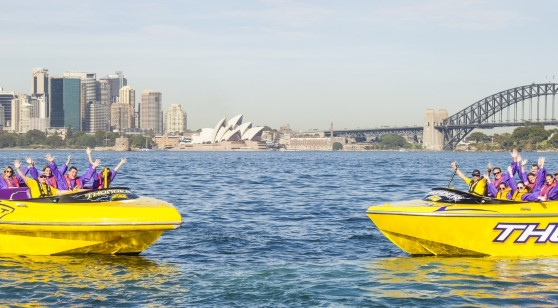 30 Minutes Jet Boat Thrill Ride Sydney