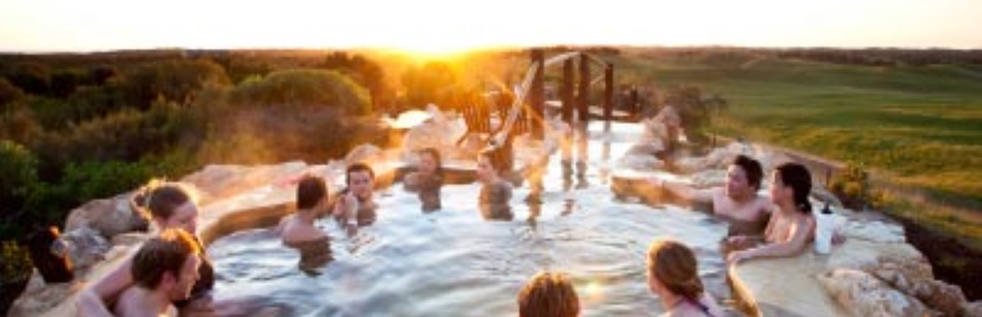 Peninsula Hot Springs bath house Experience