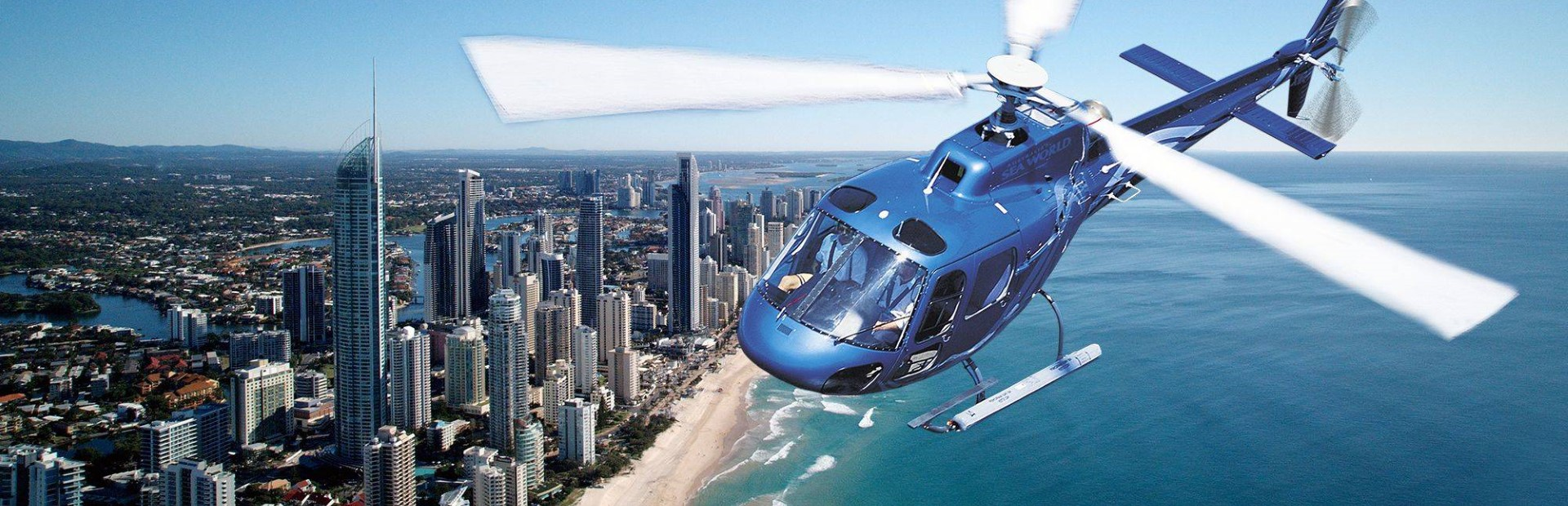Sea World Helicopter Ride Burleigh Scenic 15 Minutes