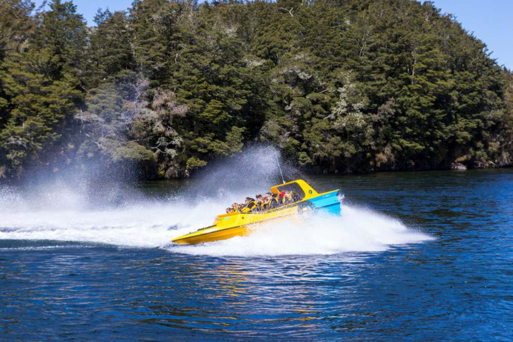 Fiordland Jet Ride Fun is good