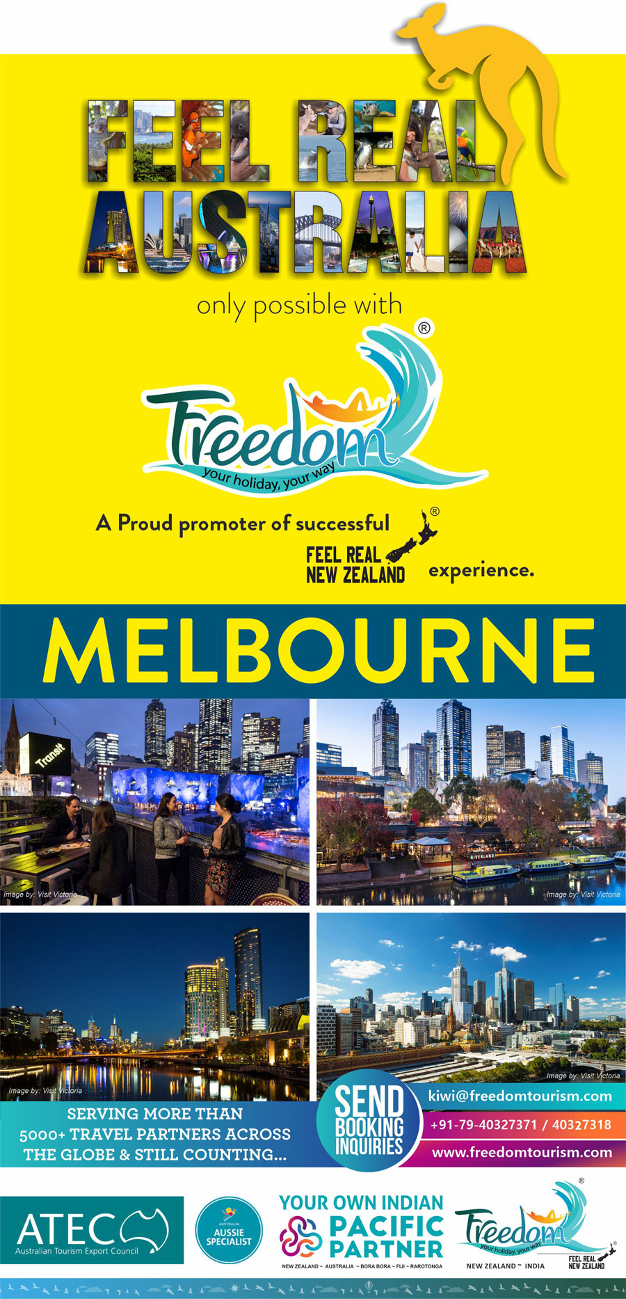 Feel Real Australia with Freedom Tourism