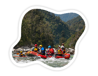 New Zealand Heli Rafting