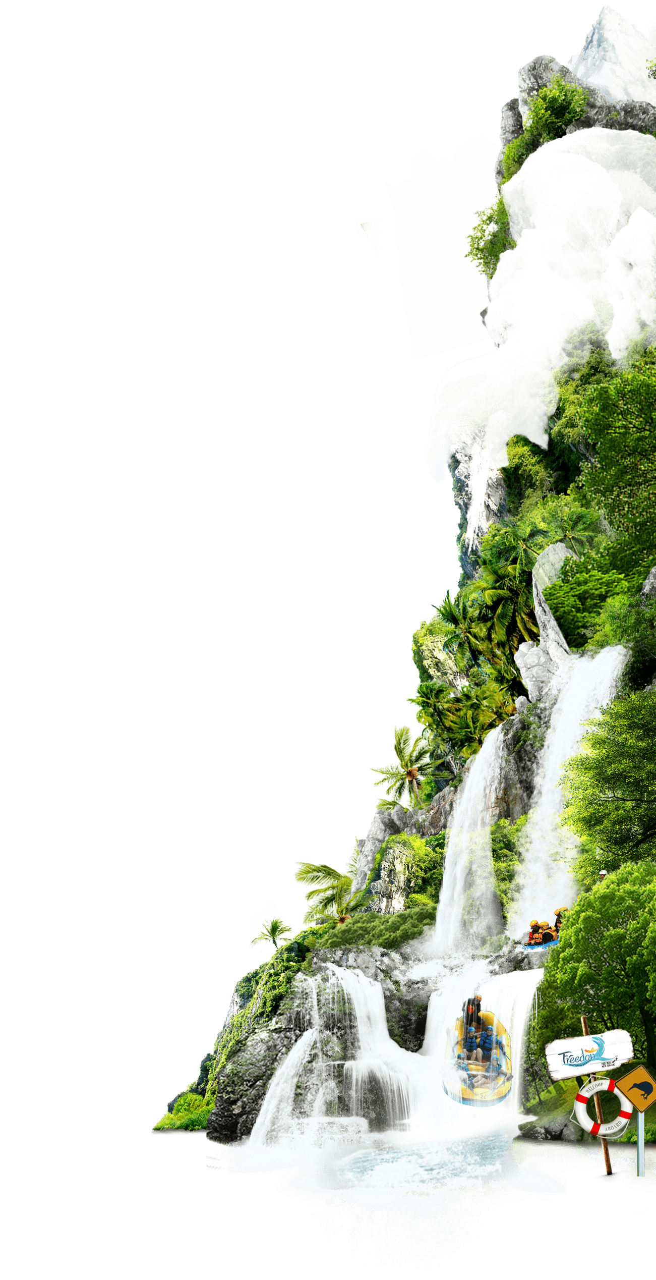 New Zealand Water Fall
